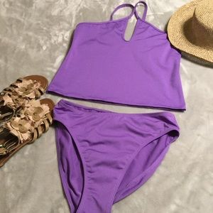 NEWPORT NEWS Tankini Bathing Suit sz 10